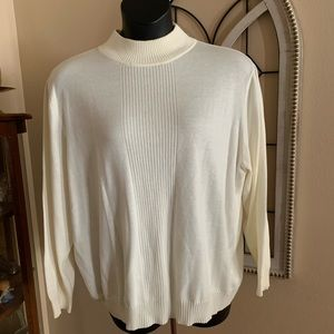 Plus size mock turtleneck 3X